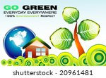 vector go green recycle and... | Shutterstock .eps vector #20961481