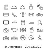 set of quality universal... | Shutterstock .eps vector #209631322