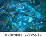 gentle turquoise backdrop of... | Shutterstock . vector #209693752
