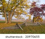 An Old Colonial Fence And...