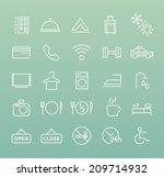 set of quality universal... | Shutterstock .eps vector #209714932