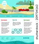 sea vacation. responsive...   Shutterstock .eps vector #209734162