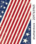 Us American Flag Background. An ...