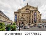 paris  france   jun 17  2014 ... | Shutterstock . vector #209775682