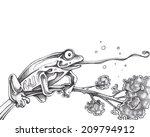 frog | Shutterstock . vector #209794912