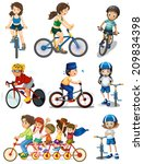 illustration of the people... | Shutterstock . vector #209834398