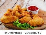 Fried Chicken Wings In Batter