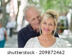 loving mature couple in an... | Shutterstock . vector #209872462