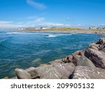 View From The Rock Jetty On A...