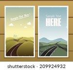 road posters | Shutterstock .eps vector #209924932