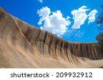Wave Rock At Western Australia