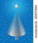 jpg version. silver christmas... | Shutterstock . vector #20997004