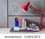 Modern Home Office Desk With...