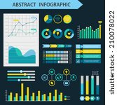infographic design elements....   Shutterstock .eps vector #210078022
