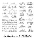air,airplane,ambulance,bicycle,bike,boat,bus,car,cartoon,city,collection,delivery,diligence,doodles,drawing