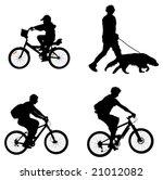 outdoor recreation vectors ... | Shutterstock .eps vector #21012082