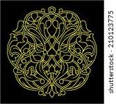 pattern  vector   Shutterstock .eps vector #210123775