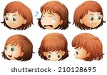 illustration of the different... | Shutterstock .eps vector #210128695