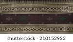 thai silk fabric pattern...   Shutterstock . vector #210152932