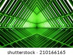 metal design of an interior in... | Shutterstock . vector #210166165
