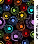 modern abstract seamless... | Shutterstock .eps vector #210186802