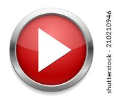 media player button | Shutterstock .eps vector #210210946
