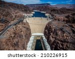 View Of Hoover Dam In Nevada...