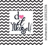 diy do it yourself | Shutterstock .eps vector #210312256