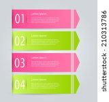 infographics template  design... | Shutterstock .eps vector #210313786