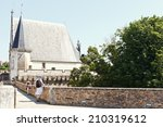 Small photo of NANTES, FRANCE - JULY 25, 2014: building on vallum of Castle of the Dukes of Brittany in Nantes. The Castle it served as the centre of the historical province of Brittany until its separation in 1941