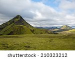 panorama mountain national park ... | Shutterstock . vector #210323212