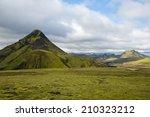 panorama mountain national park ... | Shutterstock . vector #210323212