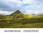 panorama mountain national park ... | Shutterstock . vector #210323542