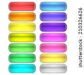 web buttons set | Shutterstock .eps vector #210326626