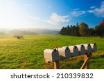 Mail Boxes And An Antique Farm...