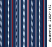 seamless pattern with nautical... | Shutterstock .eps vector #210344692