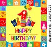 Happy First Birthday....