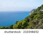 Ionian Sea View From Top Of...