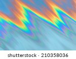 Small photo of Colorful abstract decorative background with polyline curves in rainbow colors. Can be used as wallpaper.