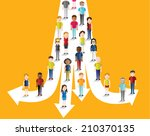 social groups of people icon... | Shutterstock .eps vector #210370135