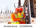Two Electrical Engineers Using...