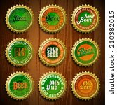 beer background oktoberfest | Shutterstock .eps vector #210382015