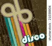retro disco style | Shutterstock .eps vector #21038806