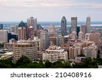 montreal highrise    view from... | Shutterstock . vector #210408916