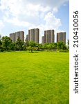 on the suburban of modern... | Shutterstock . vector #210410056