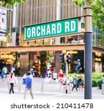 """Street Sign That Read """" Orchard ..."""