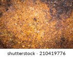 metal corroded texture | Shutterstock . vector #210419776