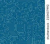 seamless pattern. computer... | Shutterstock .eps vector #210437992