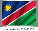 namibia flag patterns on the... | Shutterstock . vector #210441292