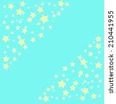 abstract magic bokeh yellow... | Shutterstock . vector #210441955